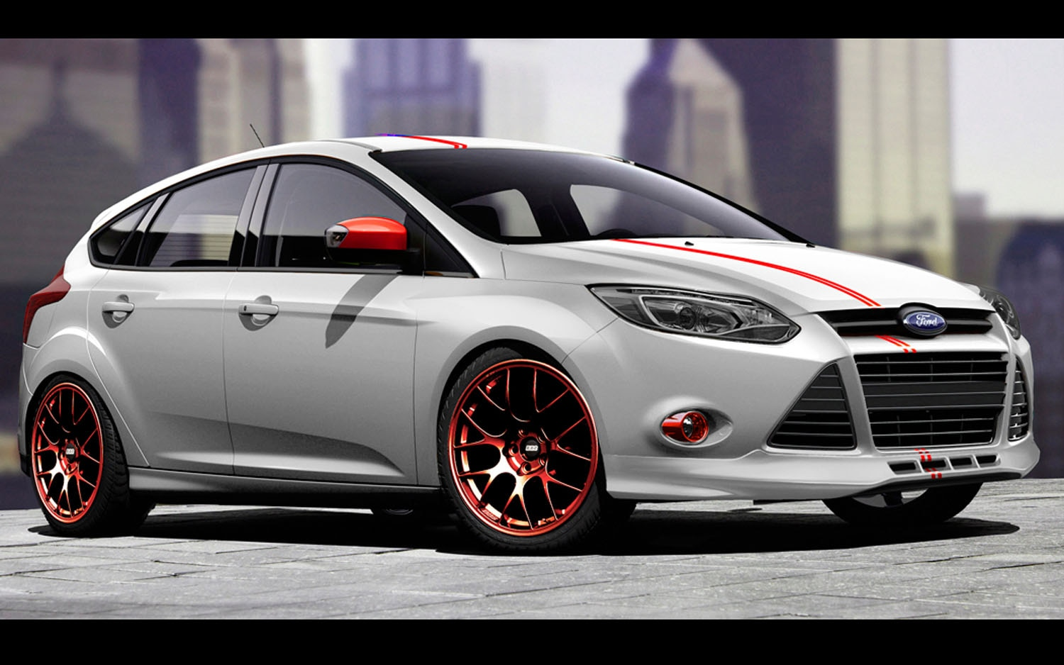 ford previews focus fiesta concepts ahead of sema show. Black Bedroom Furniture Sets. Home Design Ideas