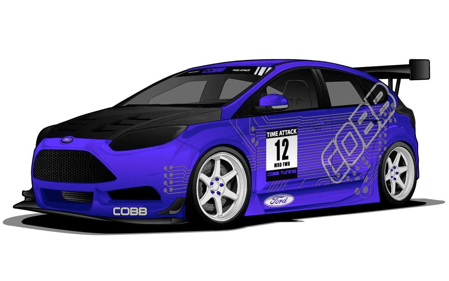 Ford Previews Focus, Fiesta Concepts Ahead of SEMA Show