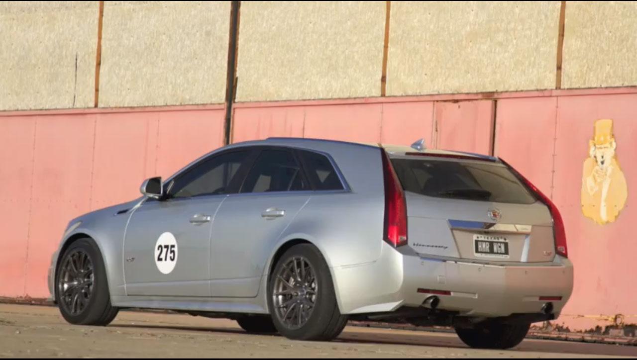 Hennessey Cadillac CTS V Wagon Texas Mile 11