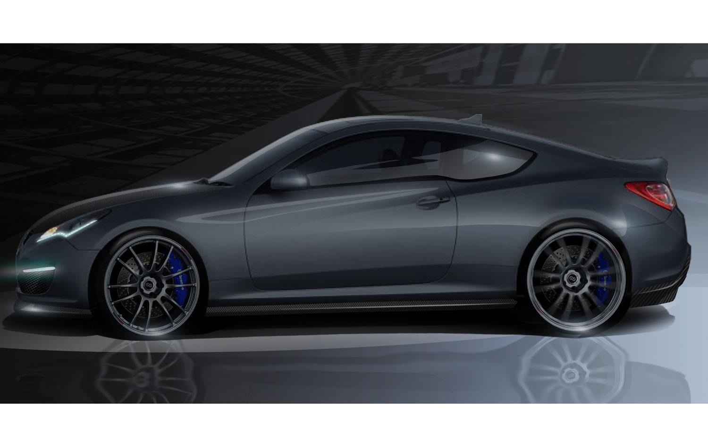 Hyundai Genesis Hurricane Coupe1