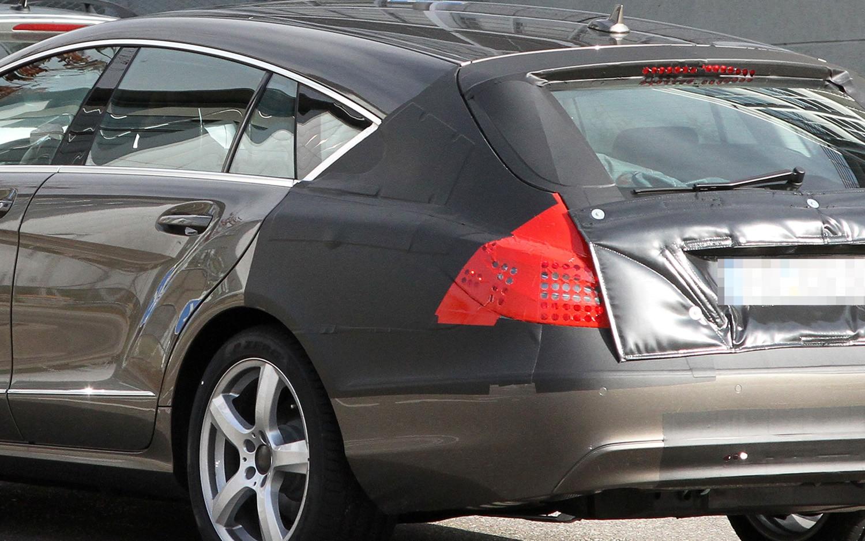 Mercedes Benz CLS Shooting Brake Spy Shot