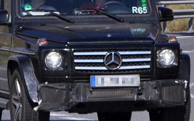 Mercedes Benz G55 AMG Spy Shot 660x413