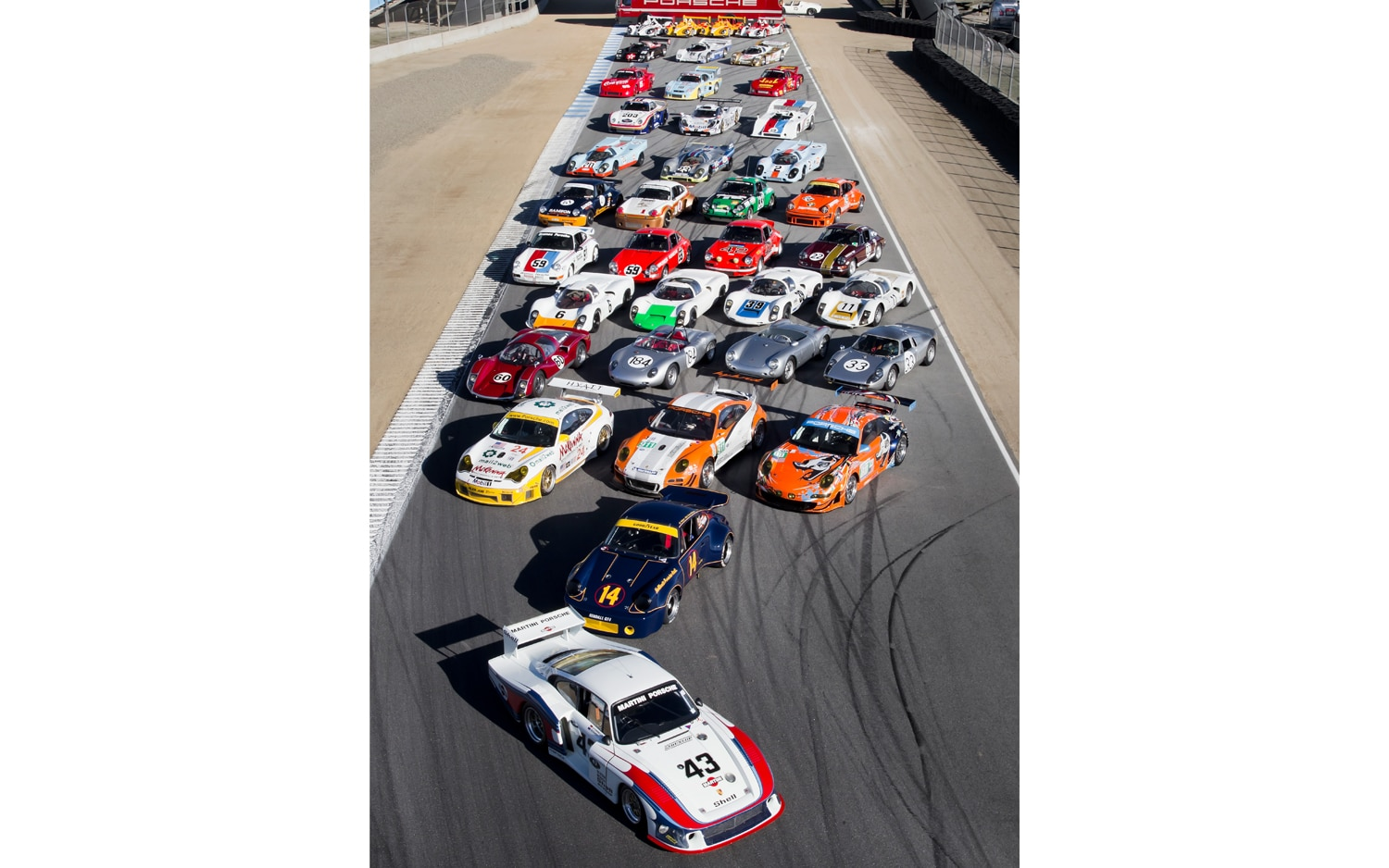 Rennsport Reunion IV Group Photo