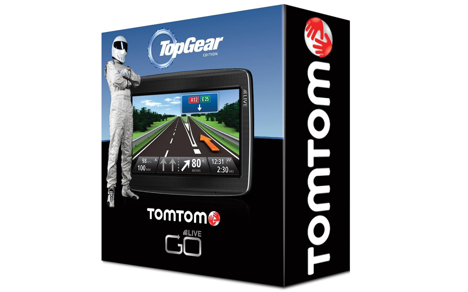 tomtom launches limited edition top gear gps. Black Bedroom Furniture Sets. Home Design Ideas