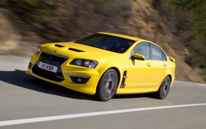 Vauxhall VXR8 front three quarter