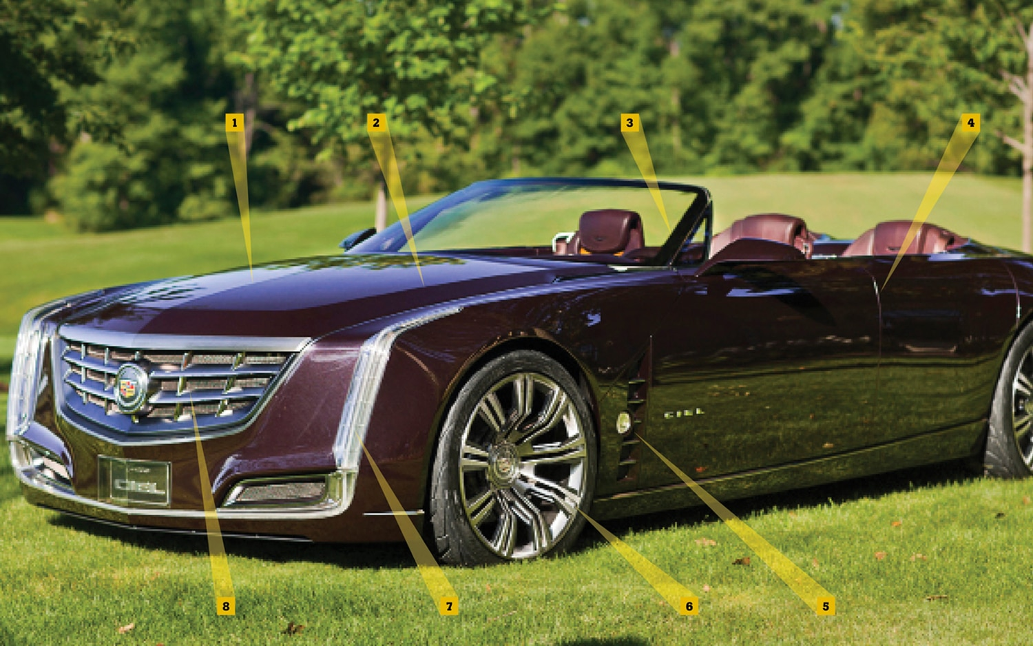 Cadillac Ciel Front Left Side View2