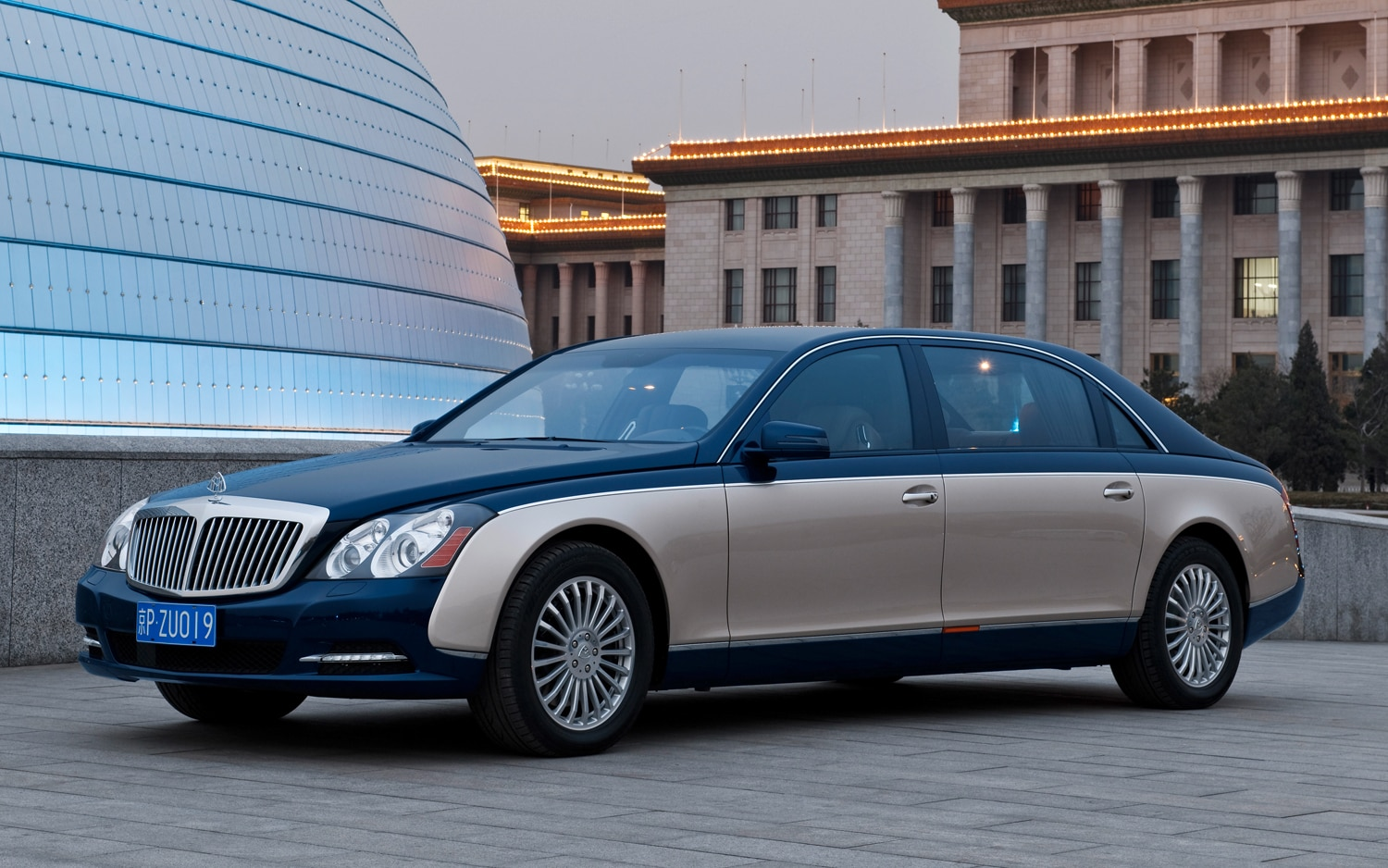 2011 Maybach 62 Front Three Quarter1