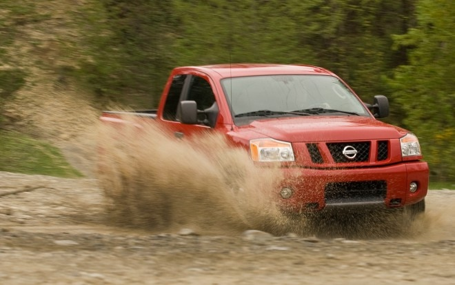 2011 Nissan Titan Front Three Quarter1 660x413