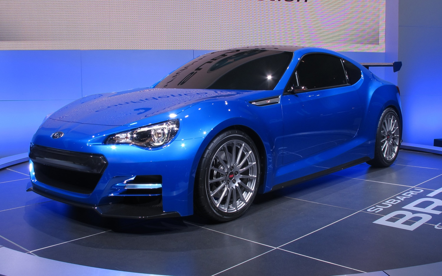 los angeles 2011 subaru still teases us with brz concepts. Black Bedroom Furniture Sets. Home Design Ideas
