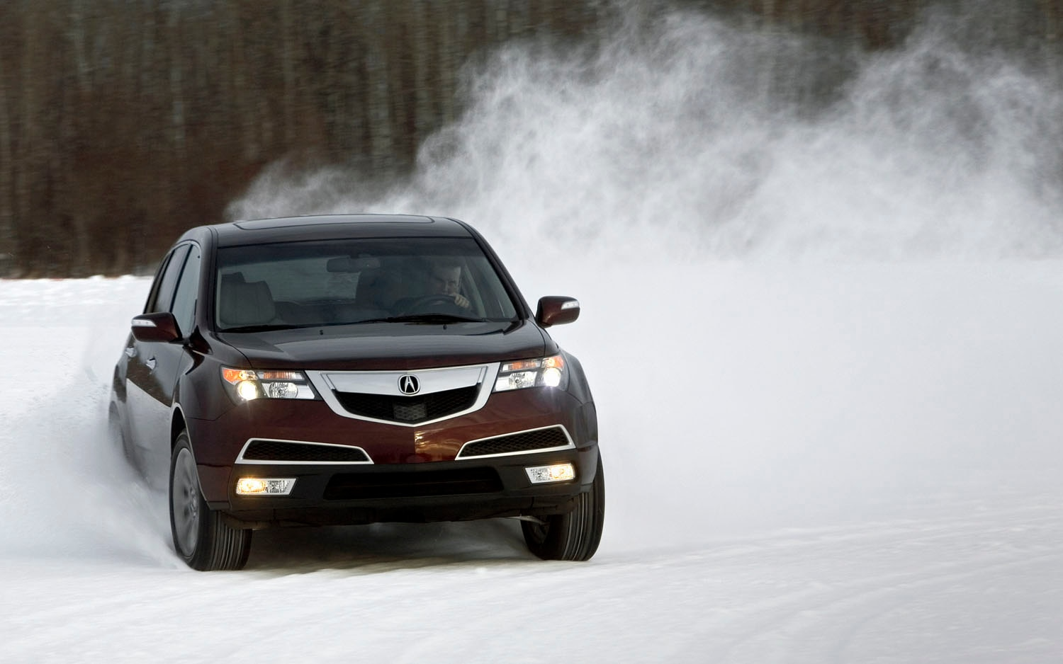 2012 Acura MDX Front Three Quarter Drift1