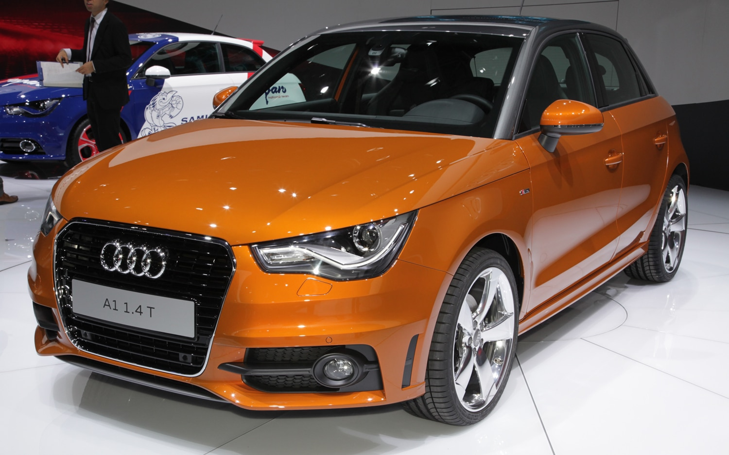 2012 Audi A1 Sportback Front Three Quarter