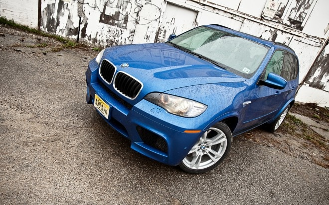 2012 BMW X5 M Front Left View1 660x413