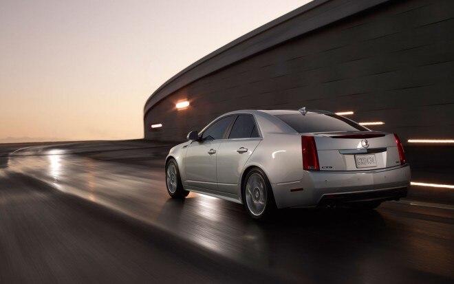 2012 Cadillac CTS Sedan Rear Three Quarter1 660x413