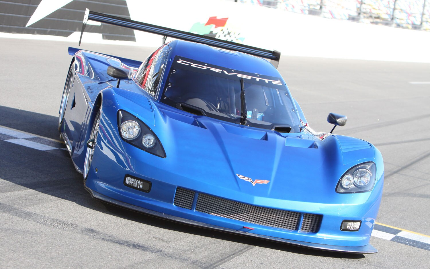 2012 Chevy Corvette Daytona Prototype Front Top1