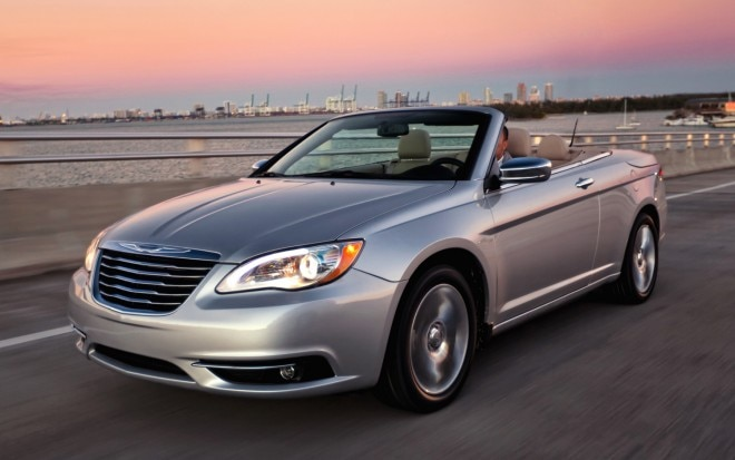 2012 Chrysler 200 Convertible Front Three Quarter1 660x413