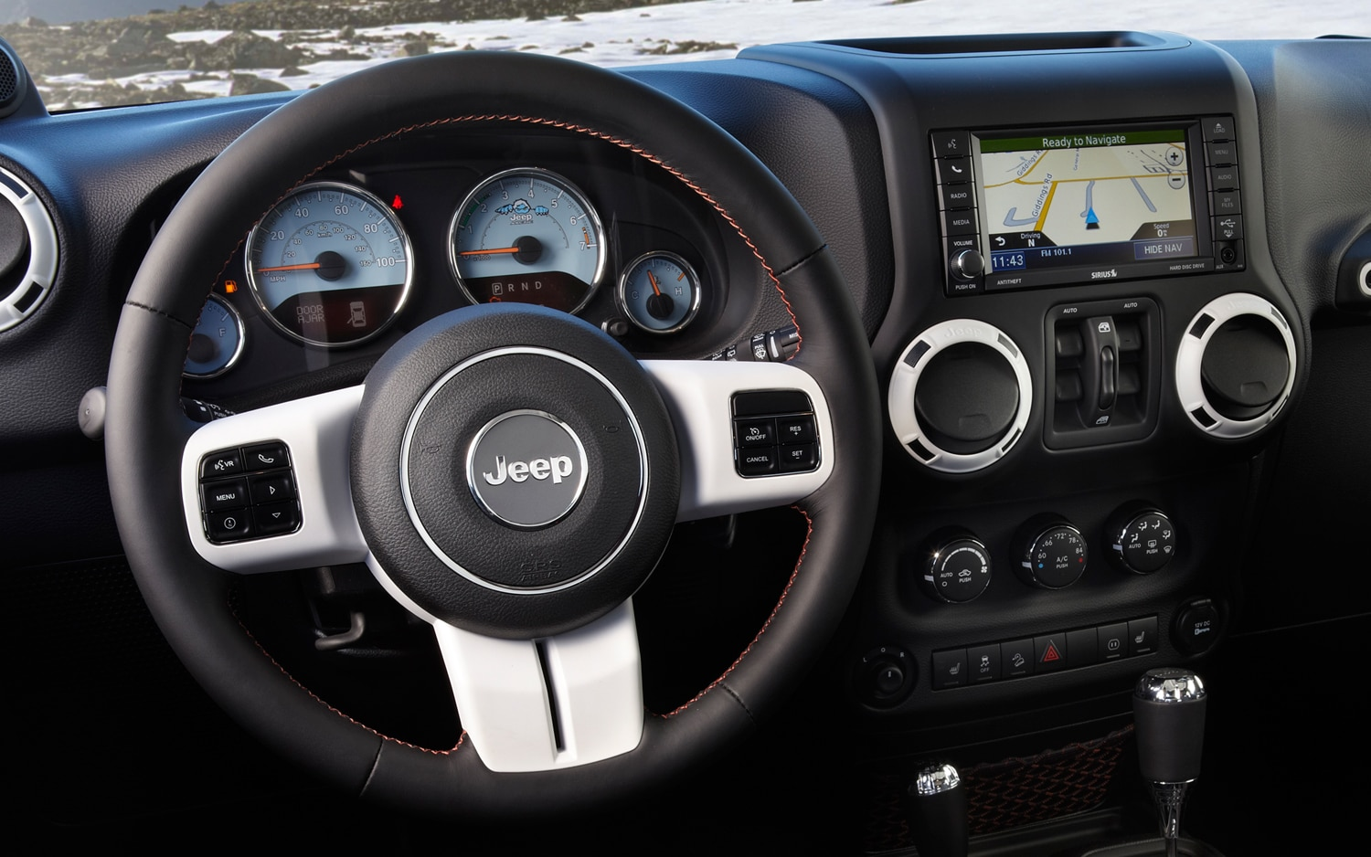 Jeep brings arctic edition package to u s spec 2012 wrangler liberty models for Jeep wrangler interior lighting