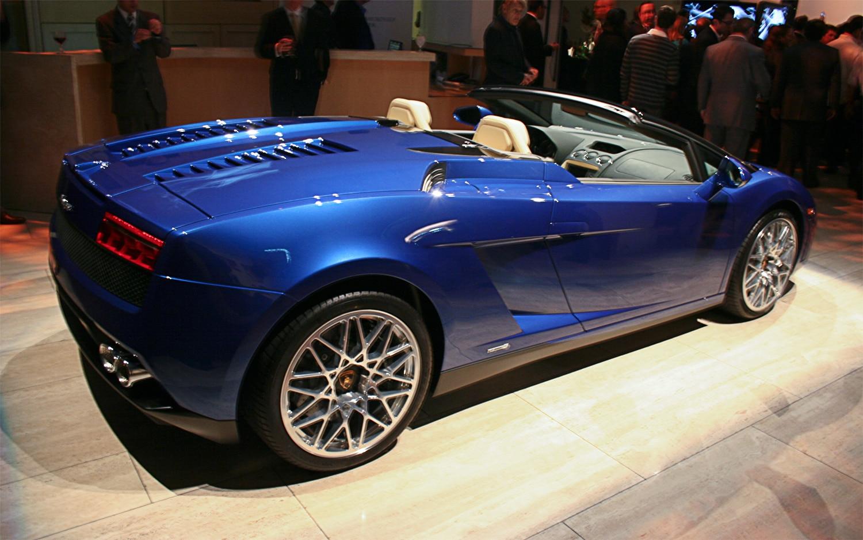 2012 Lamborghini LP 550 2 Spyder Passenger Rear1