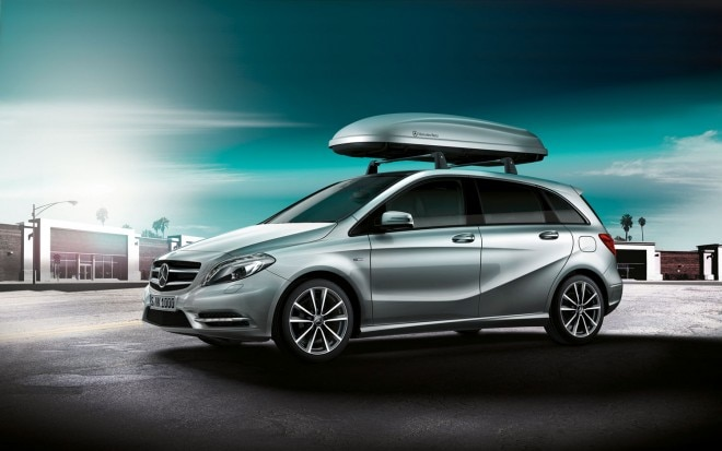 2012 Mercedes Benz B Class Roof Box Accessory1 660x413
