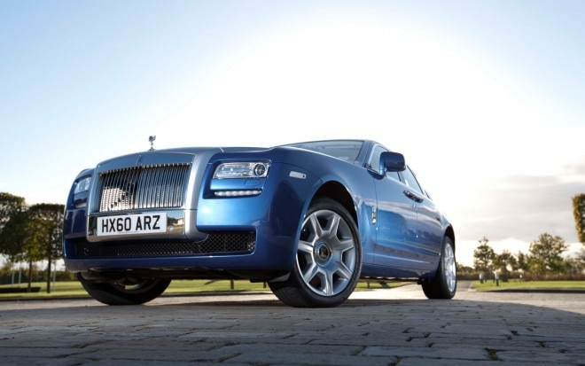2012 Rolls Royce Ghost Front Three Quarter1 660x413