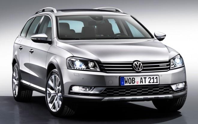 2012 Volkswagen Passat Alltrack Front View1 660x413