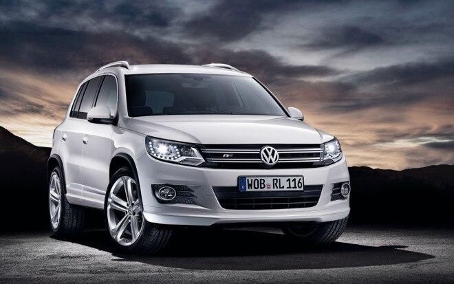 2012 Volkswagen Tiguan R Line Euro Spec Front Three Quarter1 660x413
