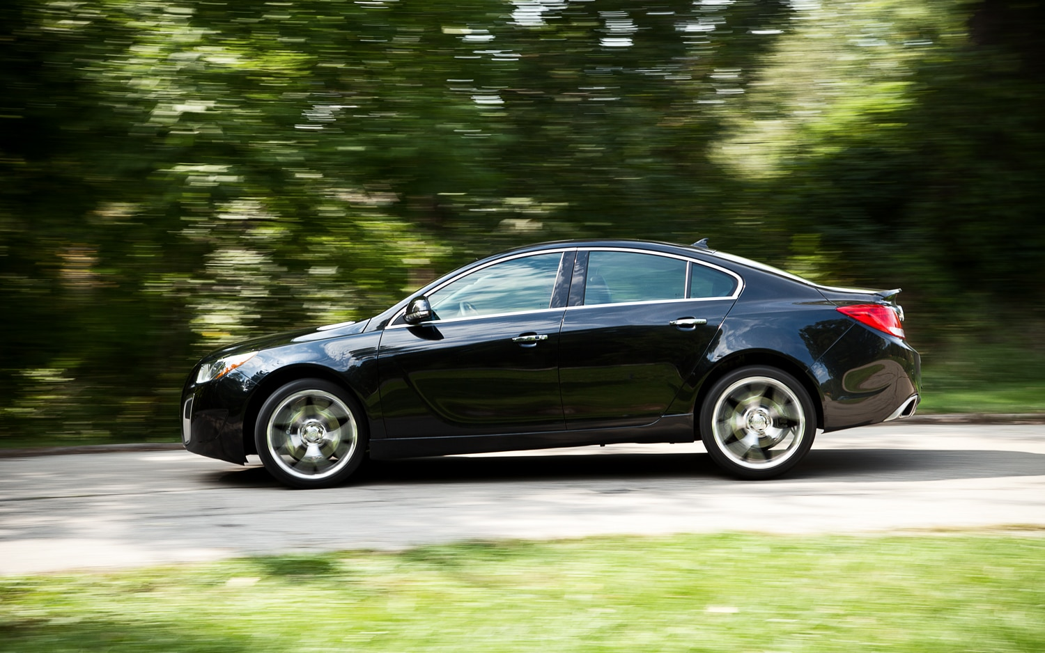 2012 Buick Regal GS Left Side View