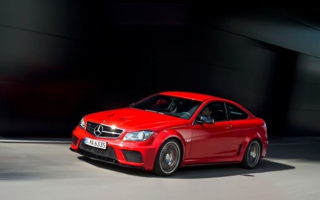 2012 Mercedes Benz C63 AMG Coupe Black Series Front Left Side View1 660x413