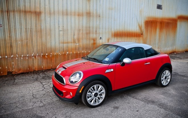 2012 Mini Cooper S Coupe Front Left Side View1 660x413
