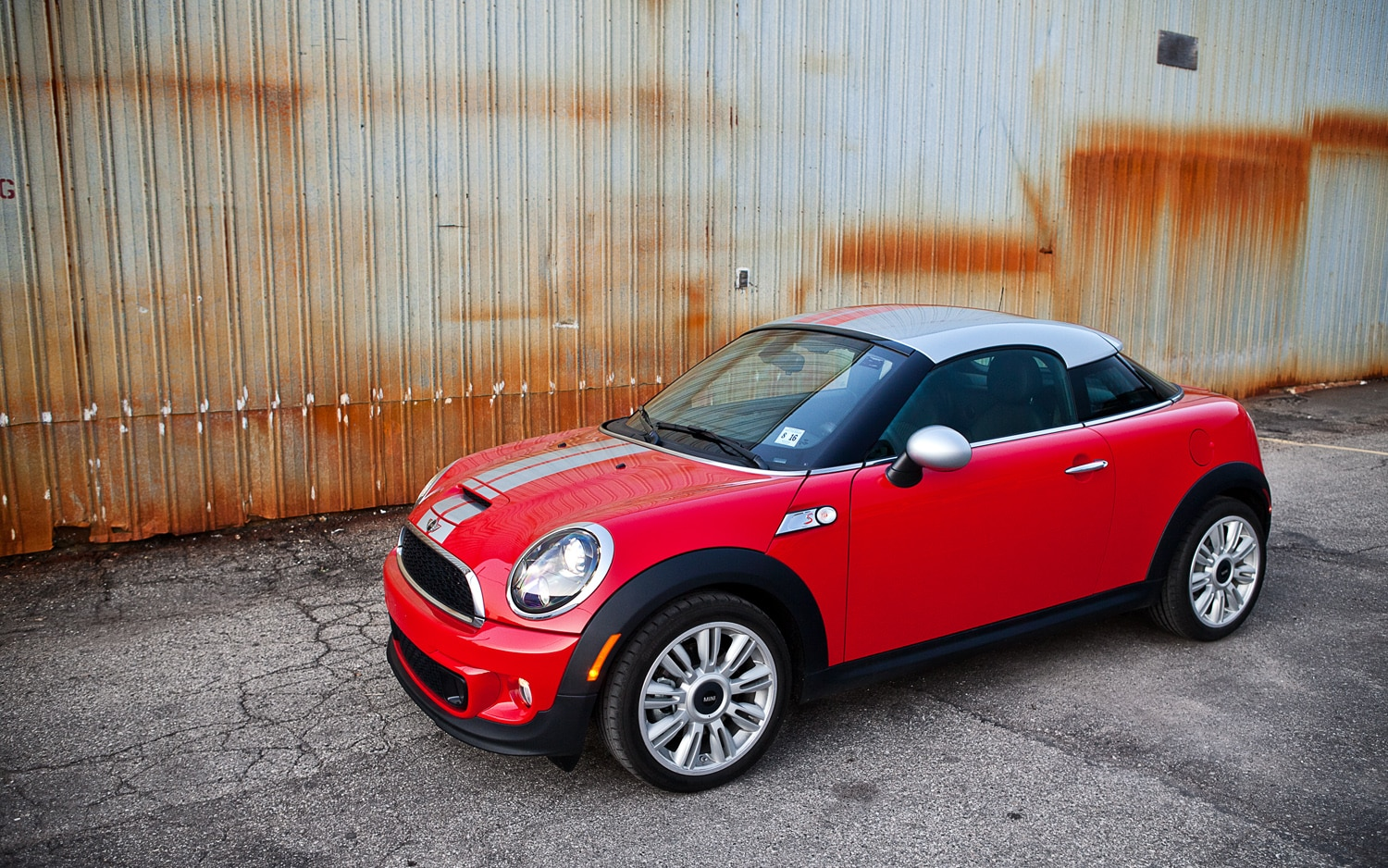 2012 Mini Cooper S Coupe Front Left Side View1