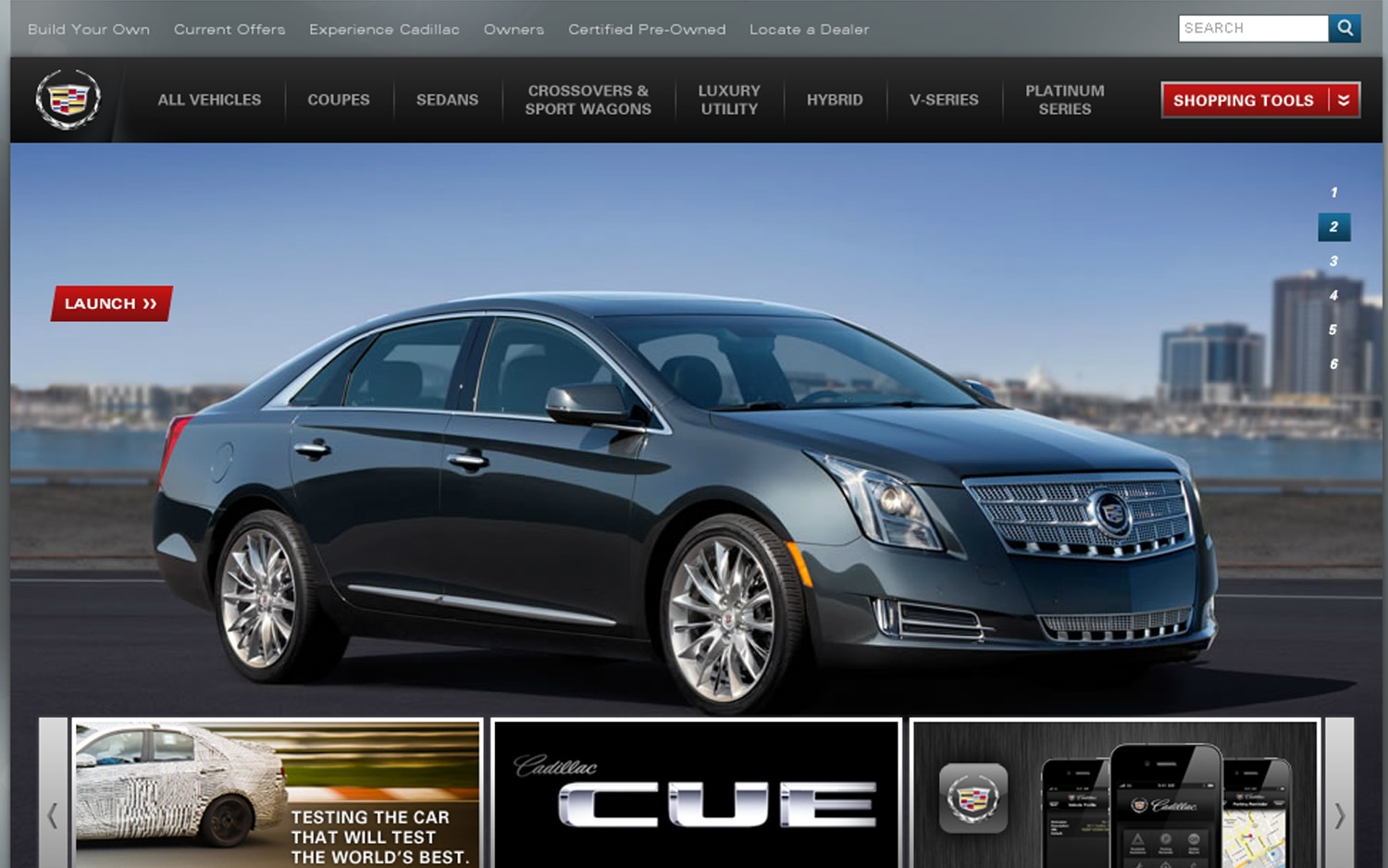 2013 Cadillac XTS On Cadillac Site1