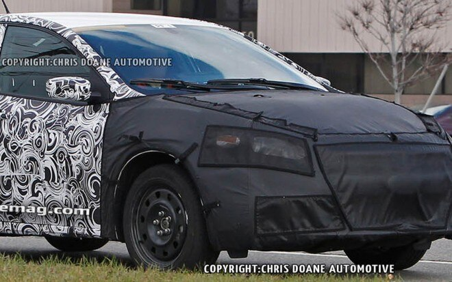 2013 Dodge Hornet Spy Shot Front Three Quarter1 660x413