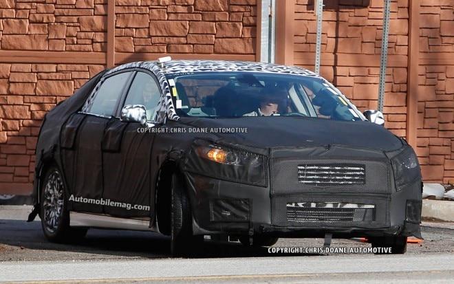 2013 Ford Fusion Front Three Quarter Spy Shot1 660x413