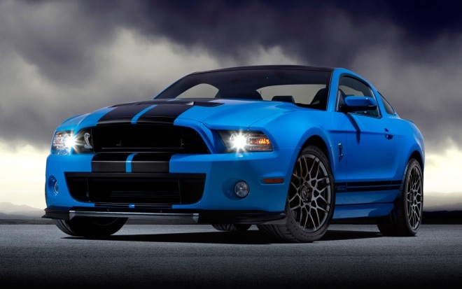 2013 Ford Mustang Shelby GT500 Front Three Quarter1 660x413