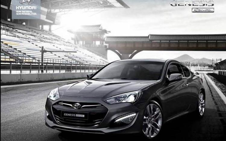 2013 Hyundai Genesis Coupe Front Three Quarter1