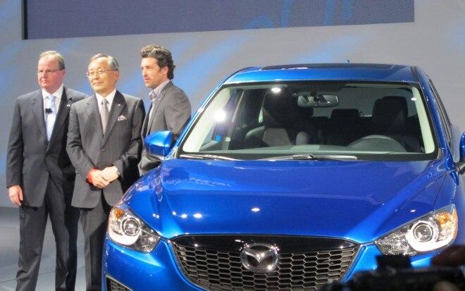 2013 Mazda CX 5 Front Three Quarter Patrick Dempsey1 660x413
