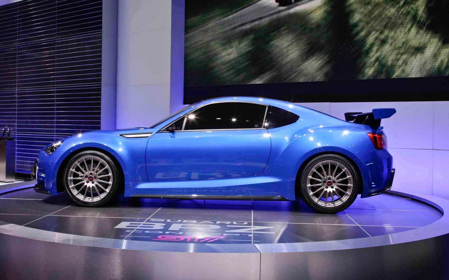 First Look Subaru Brz Sti Concept Automobile Magazine