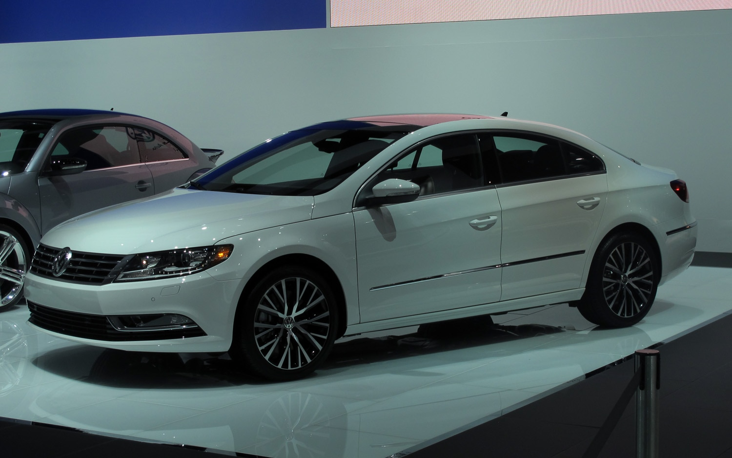 2013 Volkswagen CC Front Three Quarters View Live1