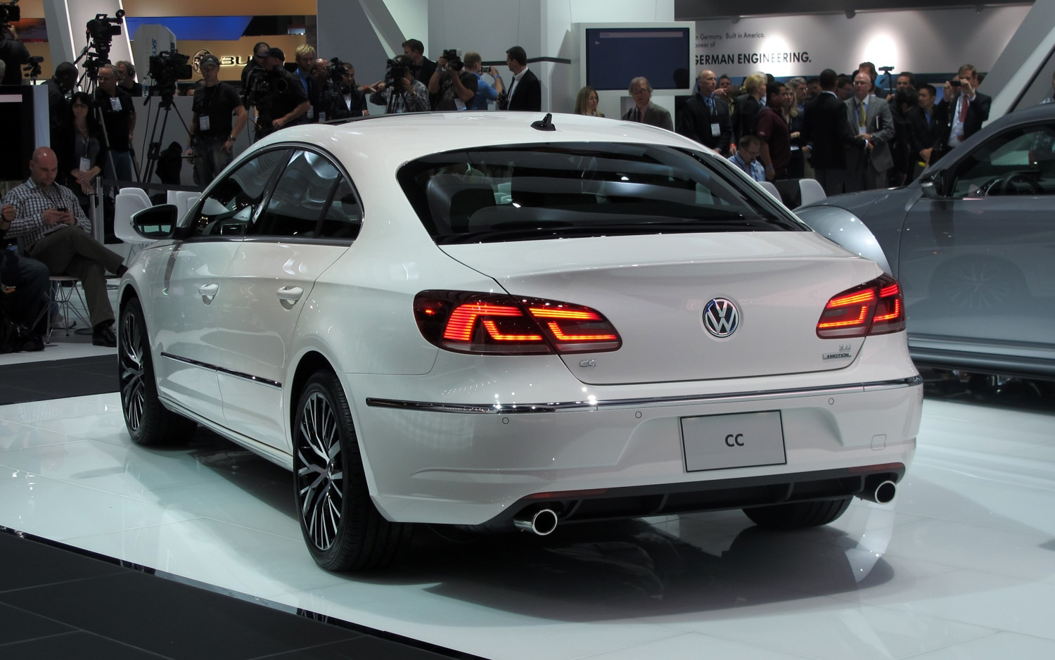 los angeles 2011 2013 volkswagen cc looks slightly better in person. Black Bedroom Furniture Sets. Home Design Ideas