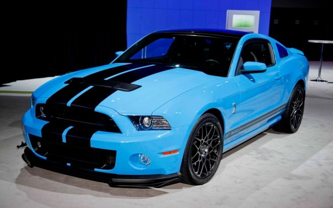 2013 Ford Mustang Shelby GT500 Front Left Side View1 660x413