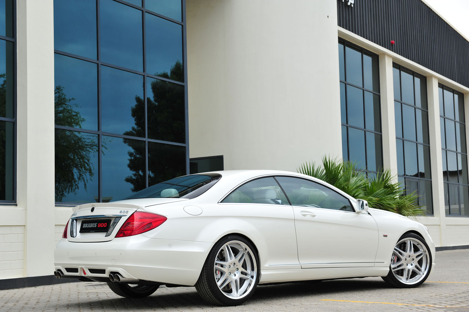 BRABUS 800 Coupe CL600 Rear1