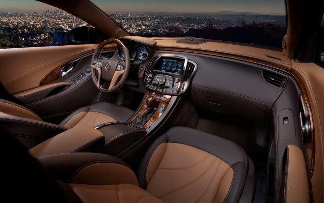 Buick LaCrosse GL Concept Cockpit1 660x413
