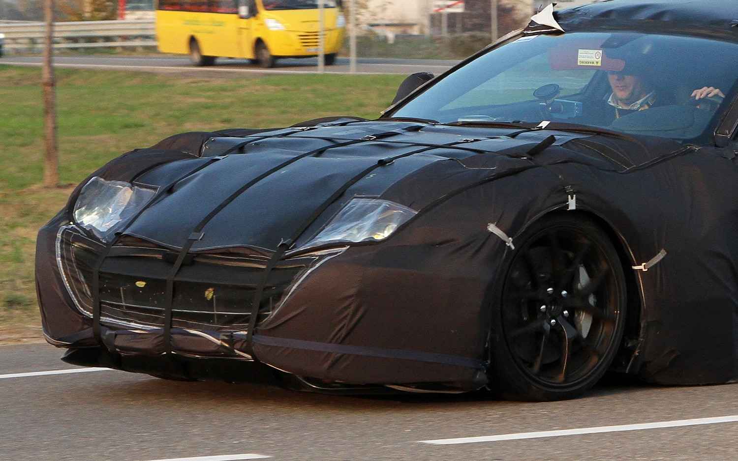 Ferrari 599 Replacement Spy Photo