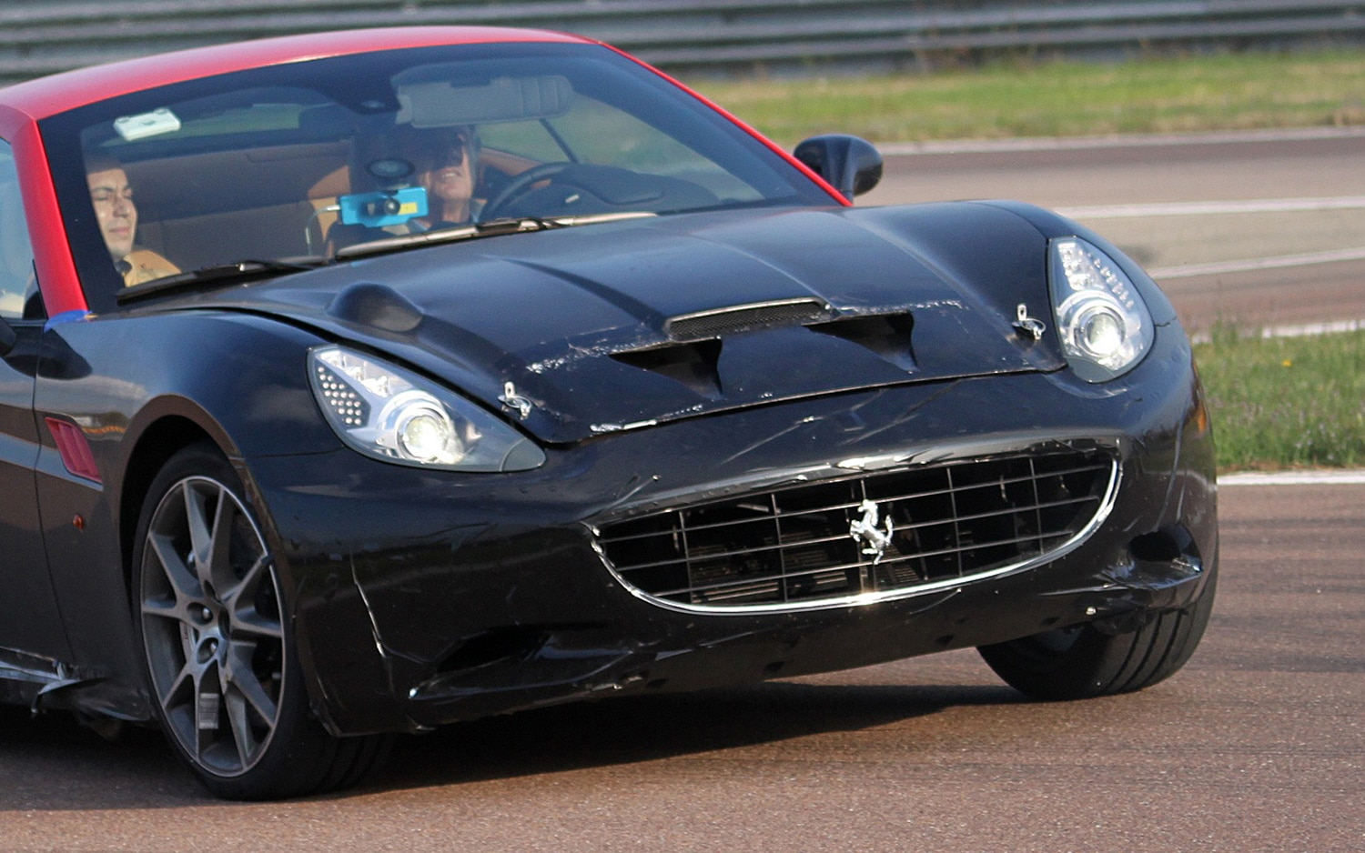 Ferrari California Turbo Prototype Vent Closeup