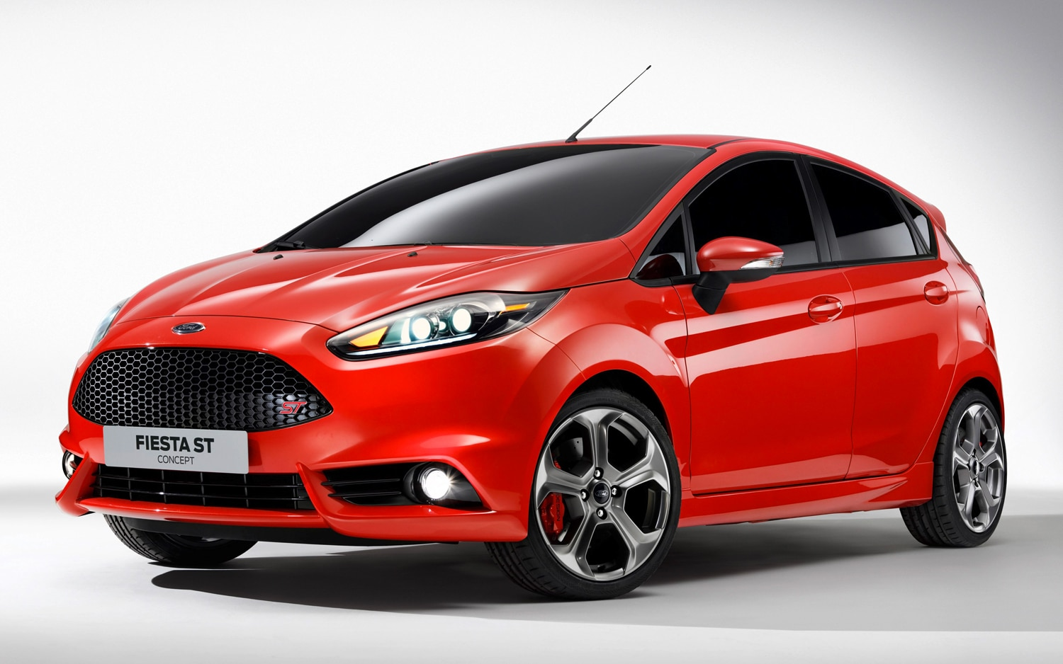 Ford Fiesta ST Five Door Concept Front Three Quarter