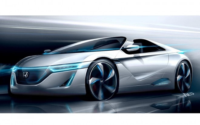 Honda Small Sports EV Concept Front Three Quarter1 660x413