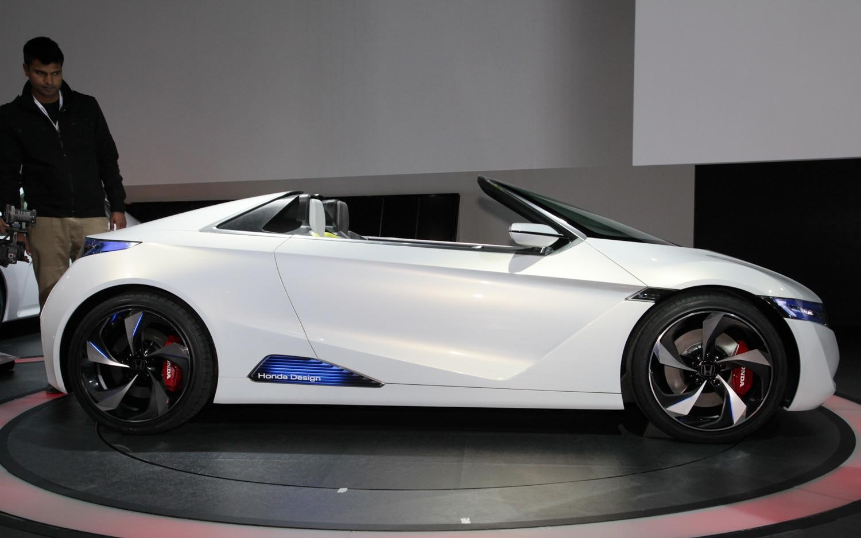 First Look Honda Small Sports EV Concept  Automobile Magazine