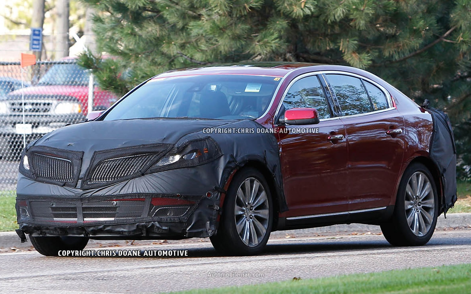 Lincoln MKS Spy Photo Front Three Quarter1