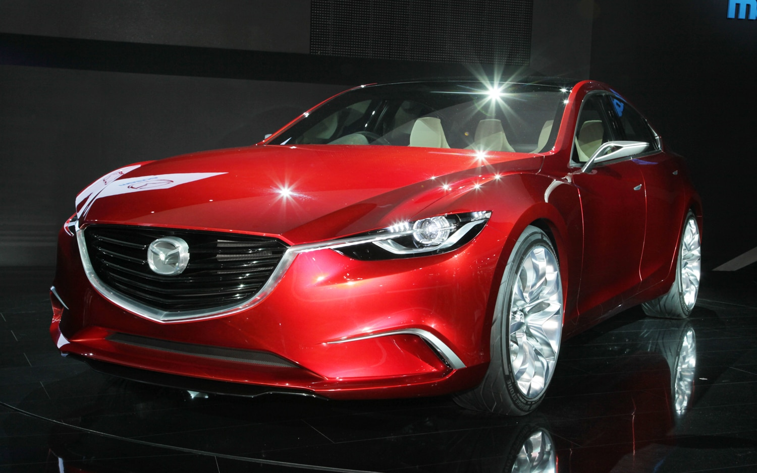 Mazda Takeri Concept Front Three Quarters