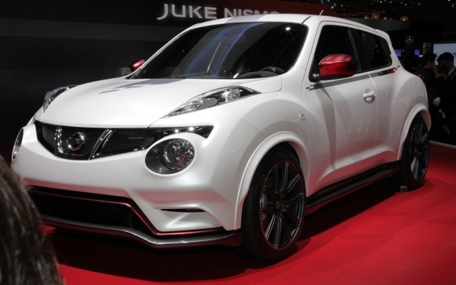 Nissan Juke Nismo Concept Front Three Quarters