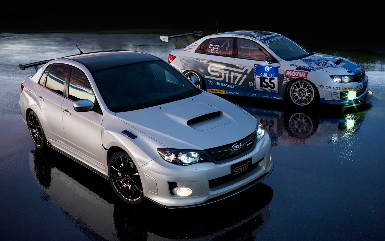Subaru Impreza S206 With Race Car1